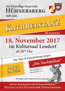 Kathreintanz Plakat final.indd