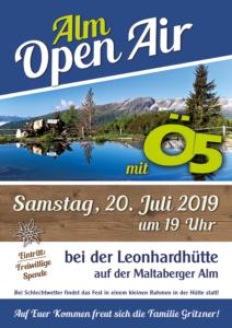 Open Air Plakat FB