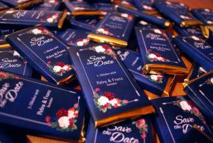 """Save the Date"" - Schokolade"